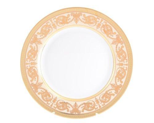 Блюдо круглое 32 см Falkenporzellan Imperial Crem Gold