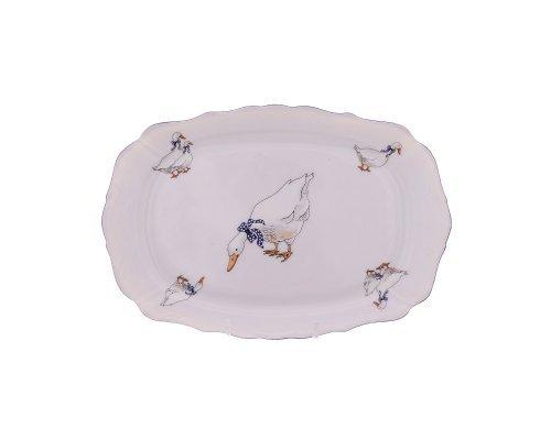 Блюдо прямоугольное 21 см Гуси Корона Queens Crown