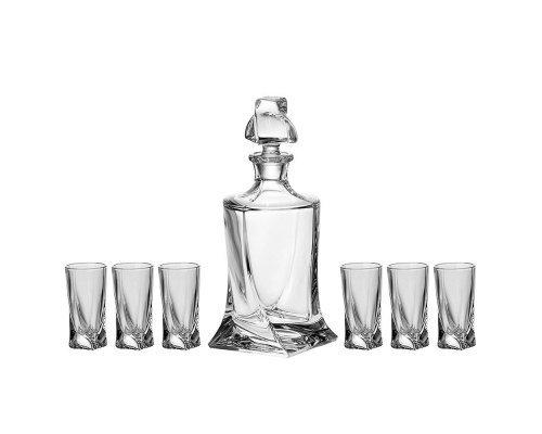 Набор для ликера Quadro Crystalite Bohemia 7 предметов