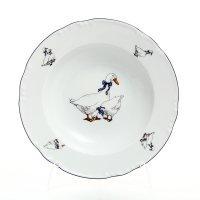 Набор тарелок глубоких 23 см Тхун (Thun) Констанция Гуси (6 шт)