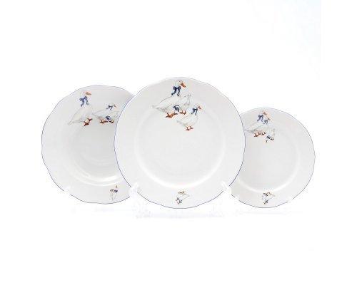 Набор тарелок Констанция Гуси Thun 18 предметов