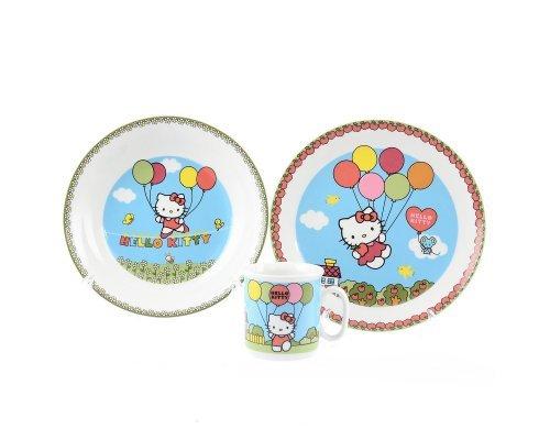 Детский набор 3 предмета Тхун (Thun) Китти (Подарочная упаковка)