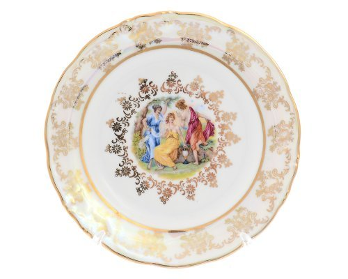 Набор тарелок 17 см Фредерика Мадонна Перламутр Карлсбад (Carlsbad) (6 шт)