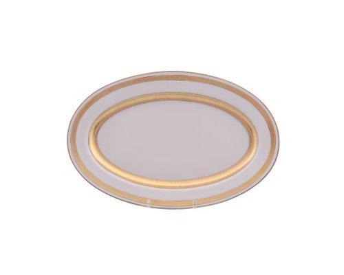 Блюдо овальное 24 см Falkenporzellan Cream Gold 9321