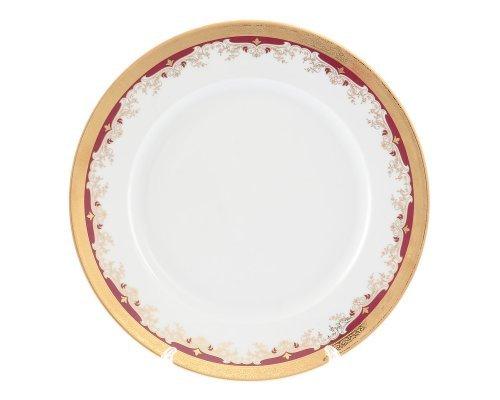 Блюдо круглое 30 см Тхун (Thun) Кристина Красная Лилия