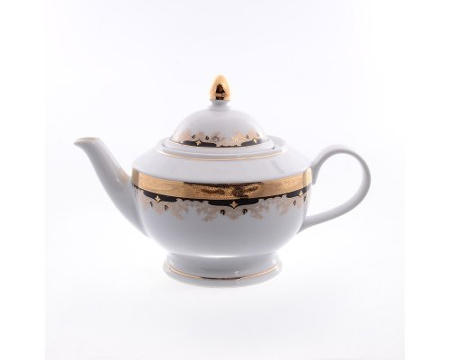 Чайник 1,2 л Тхун (Thun) Кристина Черная Лилия