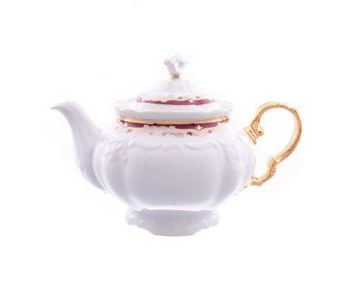 Чайник заварочный Мария Луиза Красная лилия Thun 1.6 л