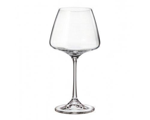 Набор бокалов для вина 350 мл Naomi Crystalite Bohemia (6 шт)