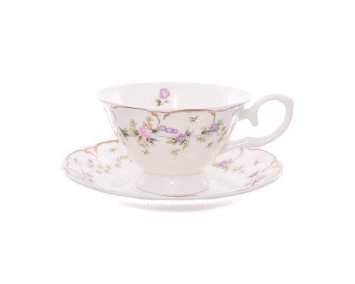 Набор чайных пар 250 мл Воспоминание Royal (Роял) (6 пар)