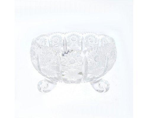 Ваза для фруктов тройножка 15 мл Sonne Crystal