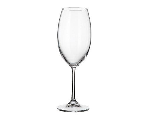 Набор бокалов для вина 400 мл Barbara Crystalite Bohemia (6 шт)