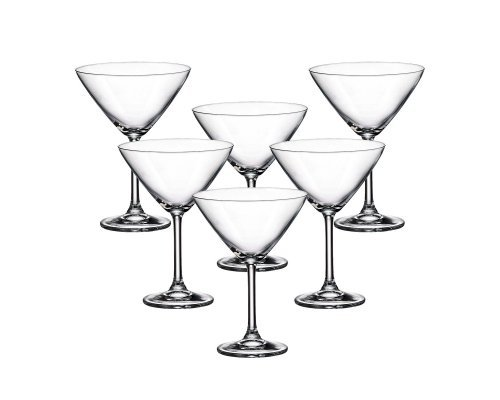 Набор бокалов для мартини 280 мл Gastro Crystalite Bohemia (6 шт)