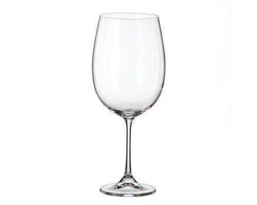 Набор бокалов для вина 640 мл Barbara Crystalite Bohemia (6 шт)