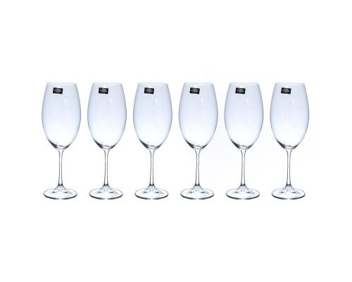 Набор бокалов для вина 510 мл Barbara Crystalite Bohemia (6 шт)