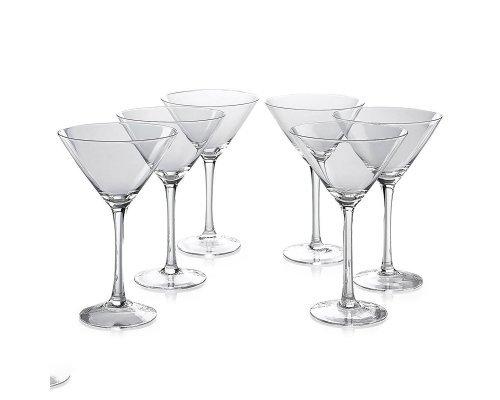 Набор бокалов для мартини 280 мл Klara Кристалайт (Kristalayt) (6 шт)