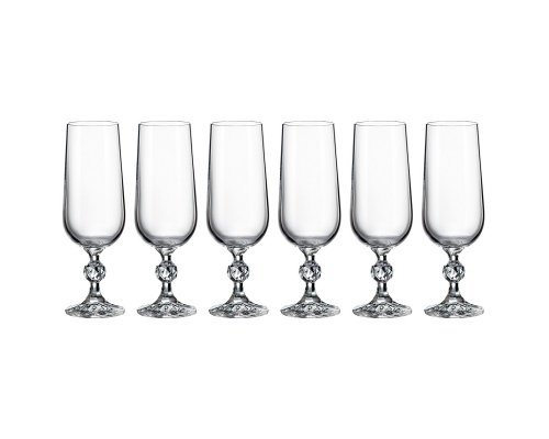 Набор для шампанского 180 мл Кристалайт (Kristalayt)