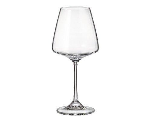 Набор бокалов для вина 360 мл Naomi Crystalite Bohemia (6 шт)