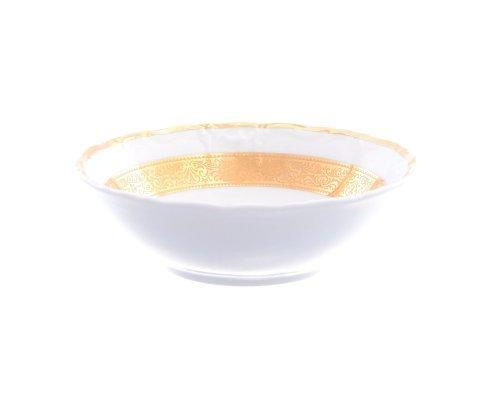 Набор салатников 13 см Тхун (Thun) Мария Луиза Золотая лента (6 шт)