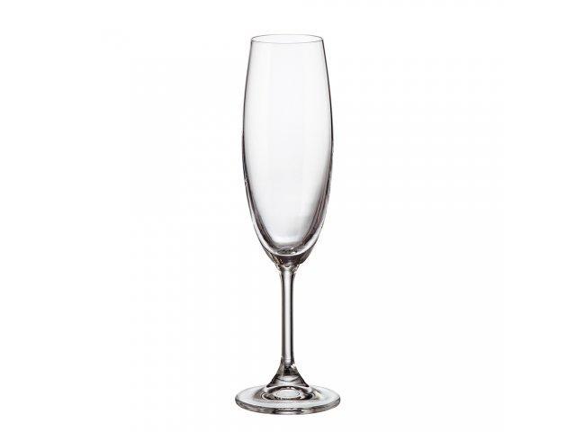 Фужер для шампанского 220 мл Klara Кристалайт (Kristalayt)