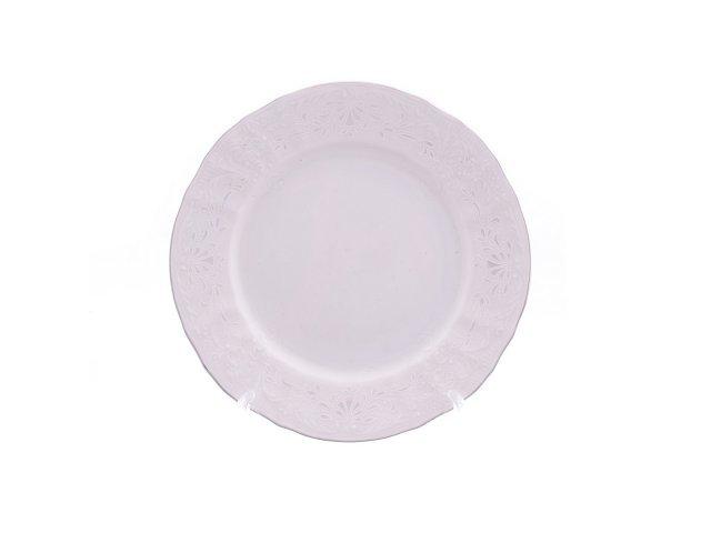 Тарелка 17 см Бернадотт Платиновый узор