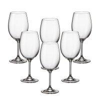 Набор бокалов для вина 450 мл Klara Кристалайт (Kristalayt) (6 шт)