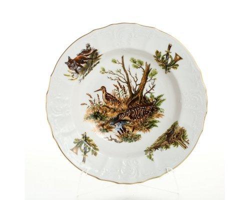 Набор глубоких тарелок 23 см Бернадотт Охота (6 шт)