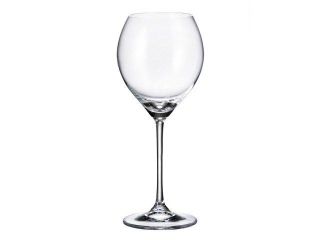Набор бокалов для вина 390 мл Cecilia Crystalite Bohemia