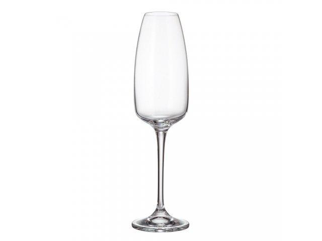 Набор фужеров для шампанского 290 мл Alizee Crystalite Bohemia (6 шт)