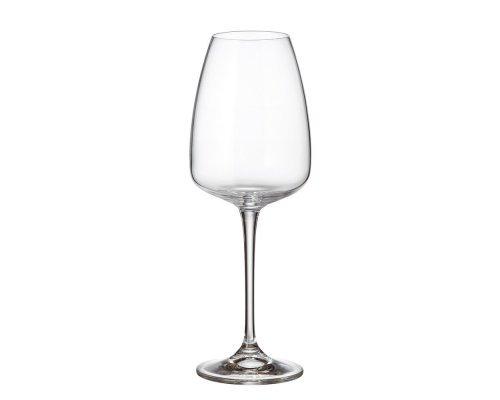 Набор бокалов для вина 440 мл Alizee Crystalite Bohemia (6 шт)