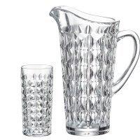 Набор для воды 7 предметов Diamond Crystalite Bohemia