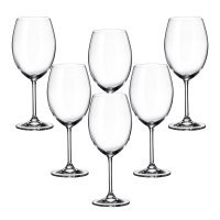 Набор бокалов для вина 580 мл Gastro Crystalite Bohemia (6 шт)