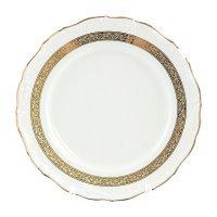 Блюдо круглое 30 см Тхун (Thun) Мария Луиза Золотая лента