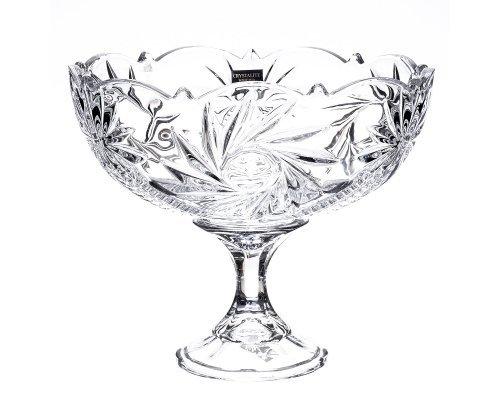Конфетница 22 см Pinwheel Crystalite Bohemia 21636