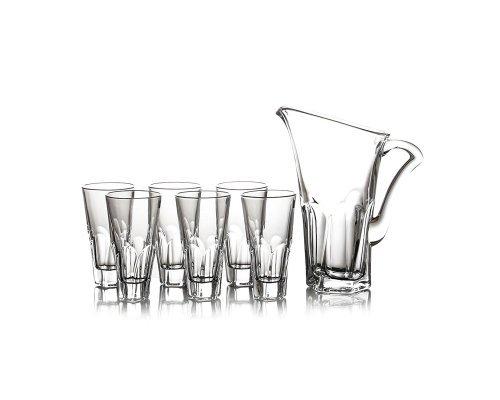 Набор для воды графин со стаканами Apollo Crystalite Bohemia 7 предметов
