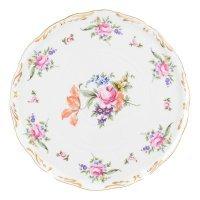 Тарелка для торта 28 см Полевой цветок Корона Queens Crown