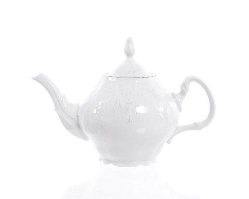 Чайник 0,7 л Бернадотт Платиновый узор