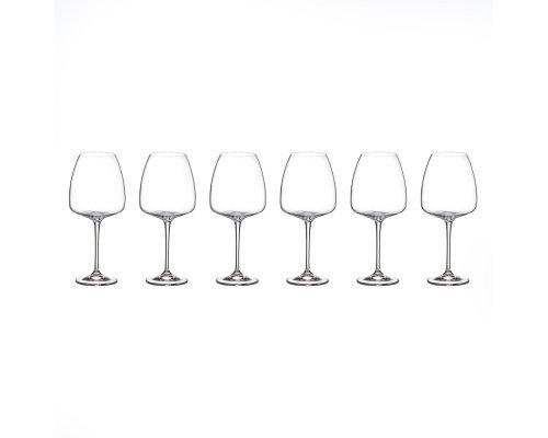 Набор бокалов для вина 770 мл Alizee Crystalite Bohemia (6 шт)