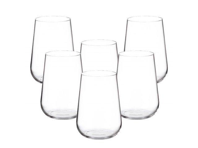 Набор стаканов для воды 470 мл Amundsen Crystalite Bohemia (6 шт)