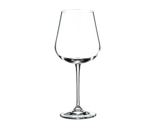 Набор бокалов для вина 540 мл Amundsen Crystalite Bohemia (6 шт)