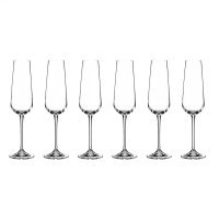 Набор фужеров для шампанского 220 мл Amundsen Crystalite Bohemia (6 шт)