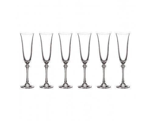 Набор фужеров для шампанского 190 мл Antik Crystalite Bohemia (6 шт)