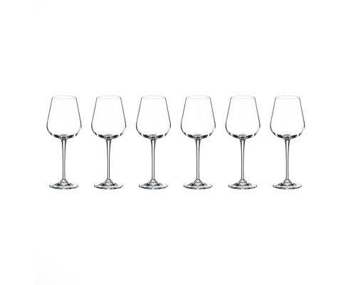 Набор бокалов для вина 330 мл Amundsen Crystalite Bohemia (6 шт)