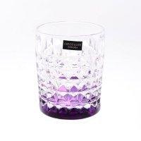 Набор стаканов для виски 230 мл Diamond Crystalite Bohemia Ассорти (6 шт)