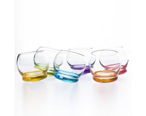 Набор стопок для водки 60 мл Crazy (6 шт) Crystalite Bohemia