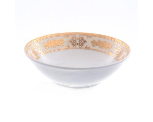 Набор салатников 13 см Тхун (Thun) Луиза Золотая роза (6 шт)