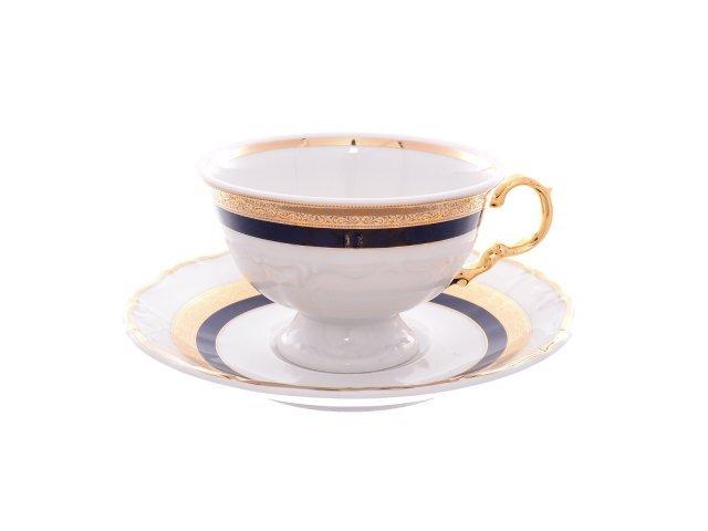 Набор чайных пар 220 мл Тхун (Thun) Мария Луиза 8800500 (6 пар)