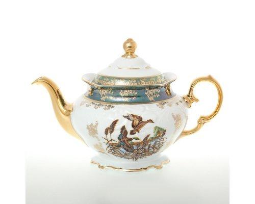 Чайник 1,2 л Фредерика Охота Зеленая