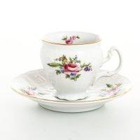 Набор кофейных пар 120 мл Бернадотт Полевой цветок (6 пар)