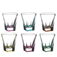 Набор стаканов для виски 270 мл Fusion trends RCR Cristalleria Italiana