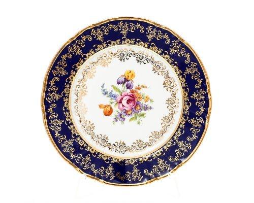 Набор тарелок 17 см Констанция Кобольт Полевой цветок Thun (Тхун) (6 шт)